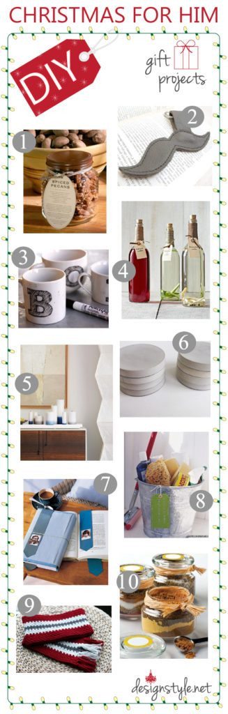 Best ideas about DIY Christmas Gift For Her . Save or Pin DIY Christmas Gift Ideas For Her & Him Now.