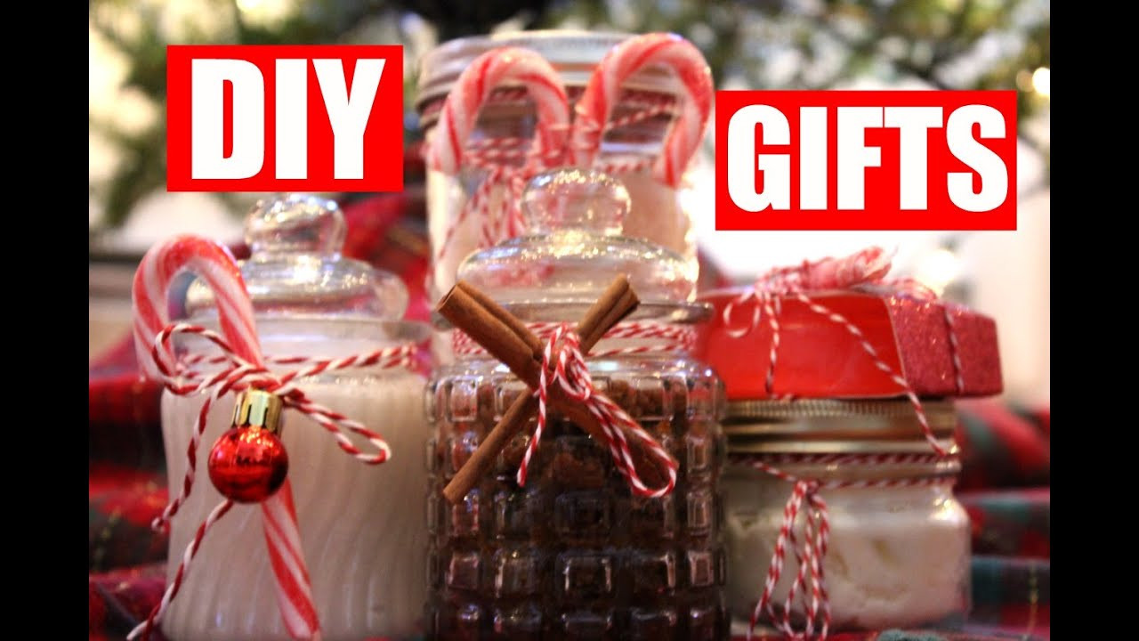 Best ideas about DIY Christmas Gift For Her . Save or Pin 5 Easy DIY Christmas Gift Ideas DIY Beauty Gifts for Her Now.
