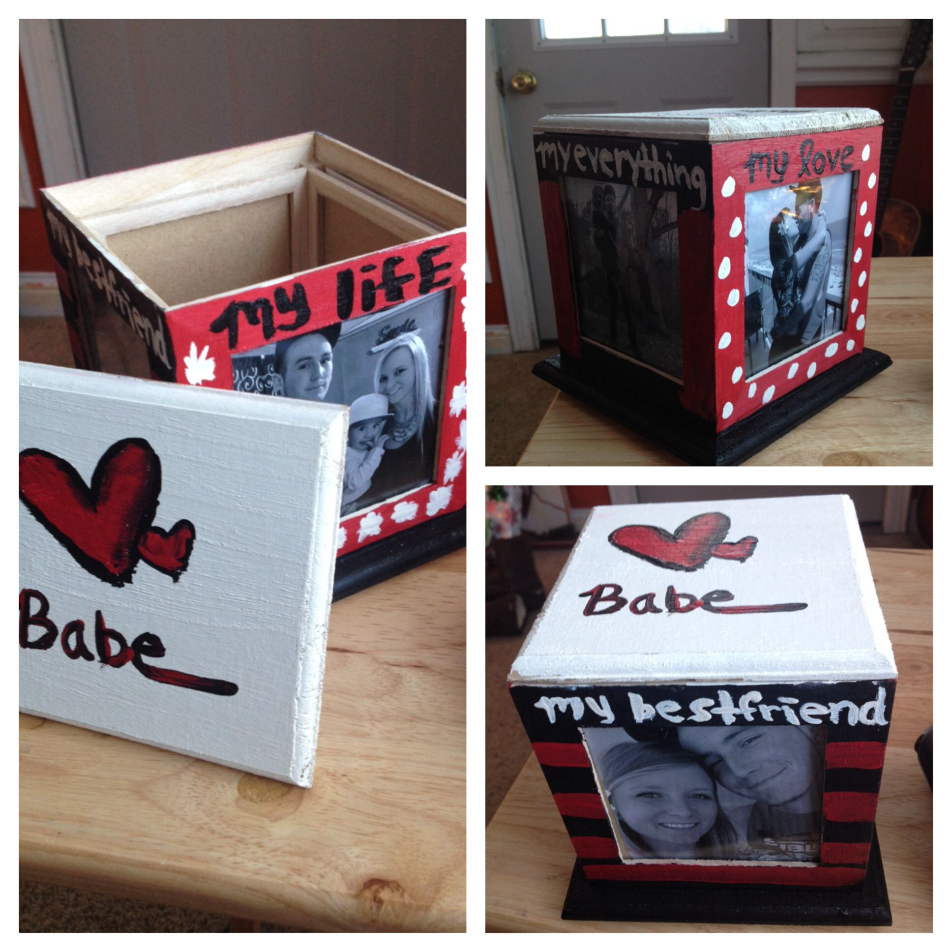 Best ideas about Diy Christmas Gift Ideas For Boyfriend . Save or Pin Cheap DIY present for boyfriend made this for Dan for Now.