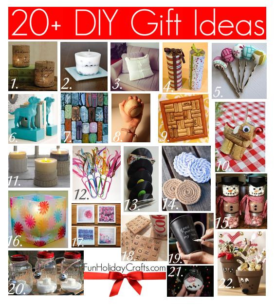 Best ideas about DIY Christmas Gifts For Family . Save or Pin 20 DIY Christmas Gift Ideas Now.
