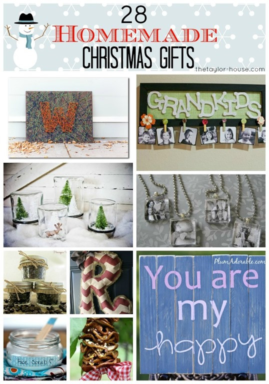 Best ideas about DIY Christmas Gifts For Family . Save or Pin 28 Homemade Christmas Gifts for Friends or Family Page 2 Now.
