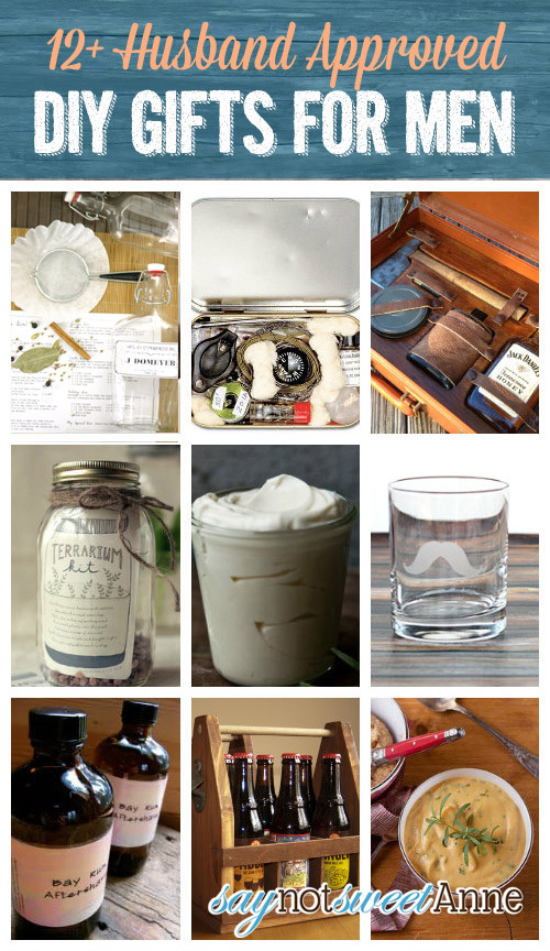 Best ideas about DIY Christmas Gifts For Husband . Save or Pin Gifts For Men DIY Holiday Gift Guide Sweet Anne Designs Now.