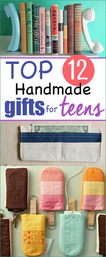 Best ideas about DIY Christmas Gifts For Teenagers . Save or Pin Top 12 Homemade Christmas Gifts for Teens Paige s Party Now.