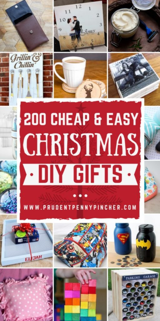 Best ideas about DIY Christmas Gifts For Teenagers . Save or Pin 200 Cheap and Easy DIY Christmas Gifts Prudent Penny Pincher Now.