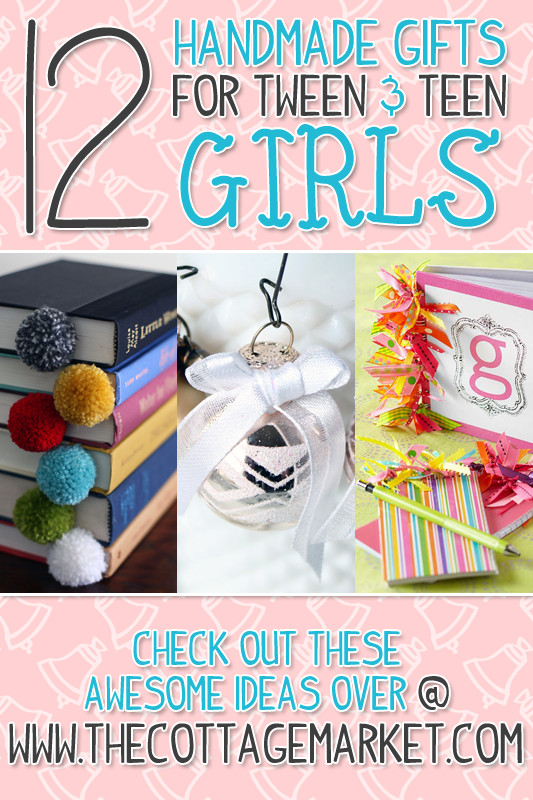 Best ideas about DIY Christmas Gifts For Teenagers . Save or Pin A Dozen Handmade Gifts for Tween & Teen Girls The Now.