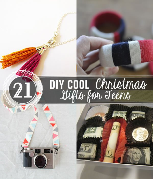Best ideas about DIY Christmas Gifts For Teenagers . Save or Pin 21 DIY Cool Christmas Gifts for Teens Now.