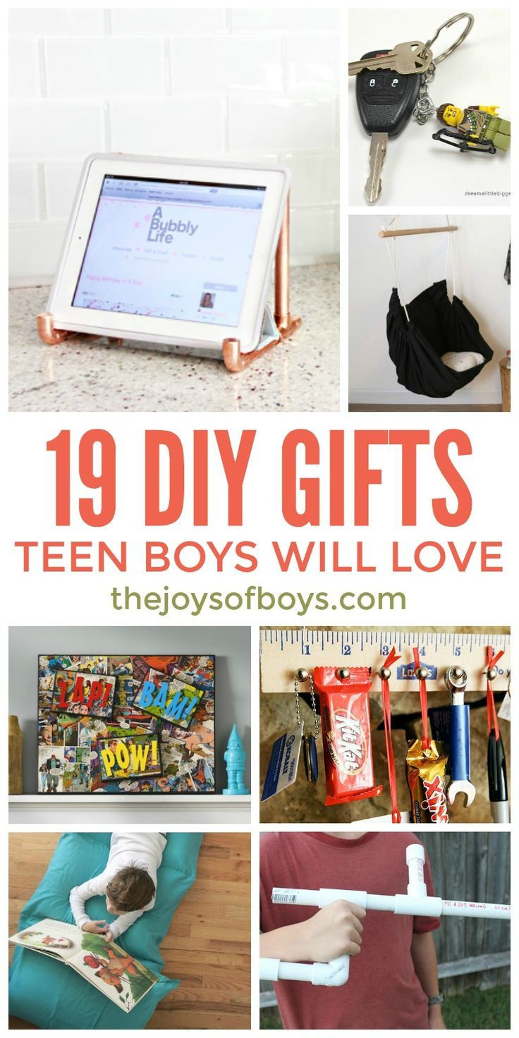 Best ideas about DIY Christmas Gifts For Teenagers . Save or Pin DIY Gifts Teen Boys Will Love Homemade Gifts For Teen Boys Now.