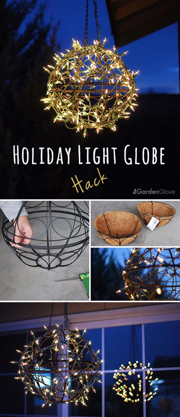 Best ideas about DIY Christmas Light . Save or Pin 40 Cool DIY Ideas with String Lights Now.