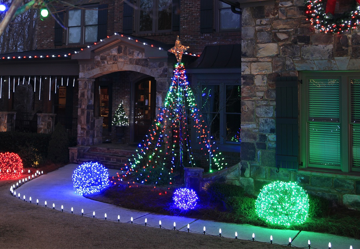Best ideas about DIY Christmas Light . Save or Pin Outdoor Christmas Yard Decorating Ideas Now.