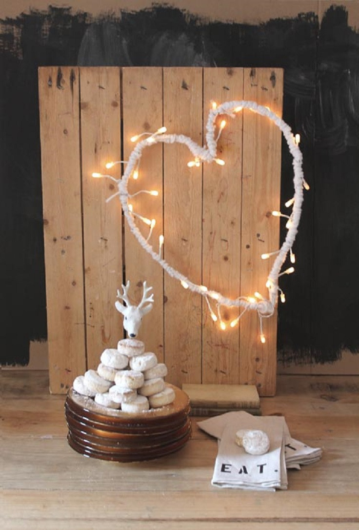 Best ideas about DIY Christmas Lights . Save or Pin Top 10 Adorable DIY Decorations with Christmas Lights Now.