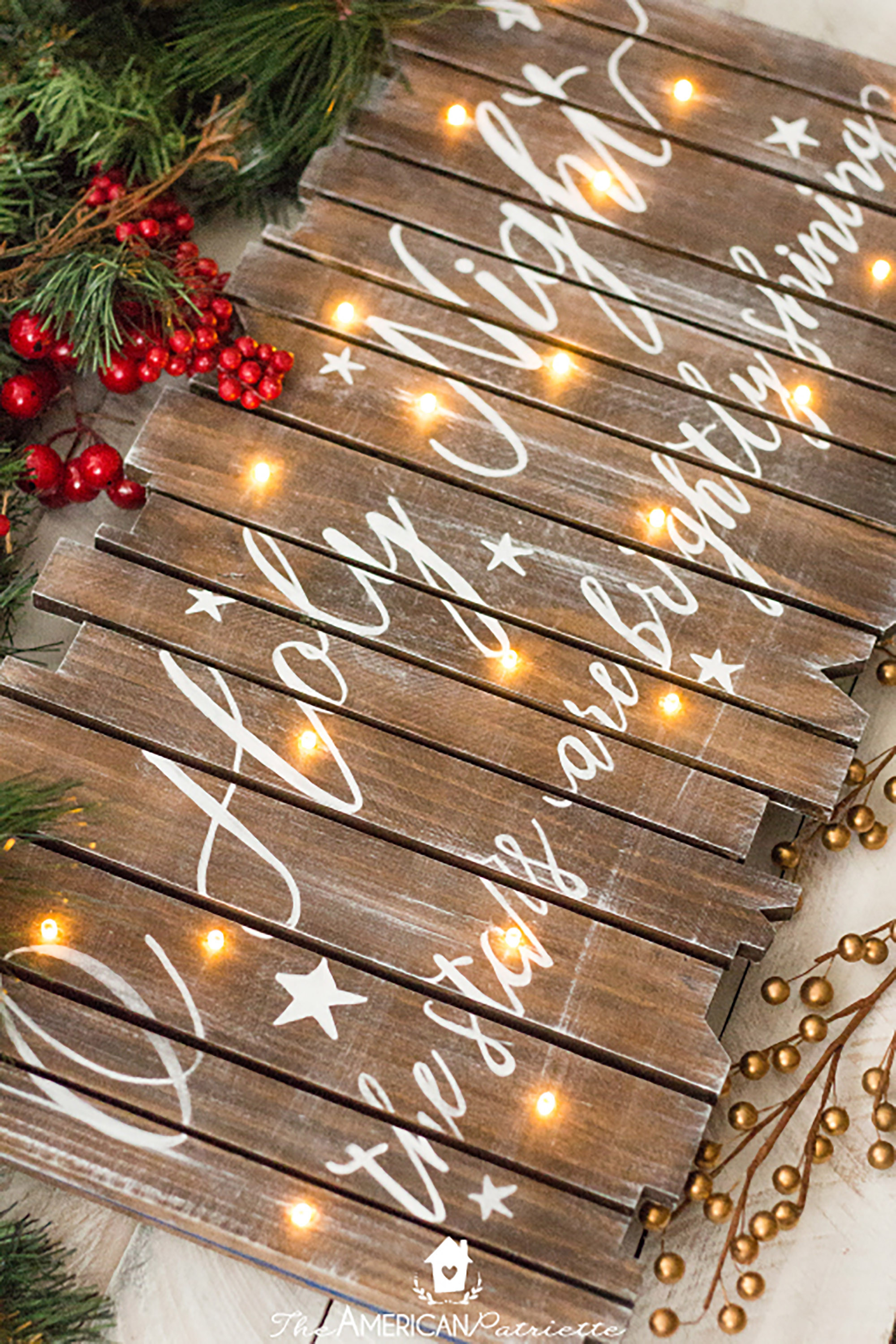 Best ideas about DIY Christmas Lights . Save or Pin 30 Easy Christmas Crafts for Adults to Make DIY Ideas Now.