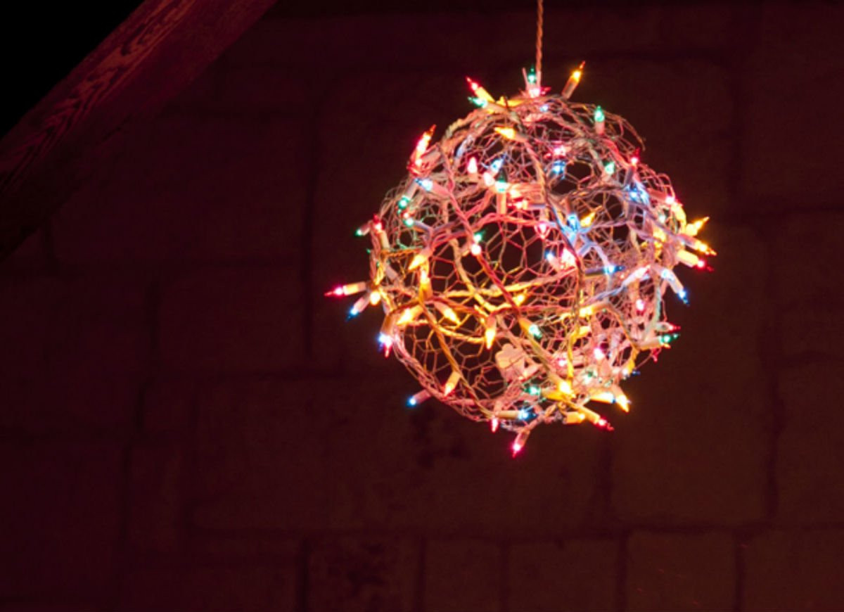 Best ideas about DIY Christmas Lights . Save or Pin DIY Christmas Light Ball DIY Christmas Decorations 10 Now.