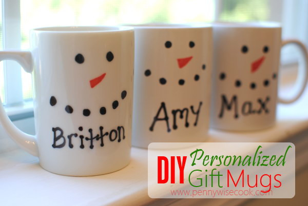 Best ideas about DIY Christmas Mug . Save or Pin 20 Awesome DIY Christmas Gift Ideas & Tutorials Now.