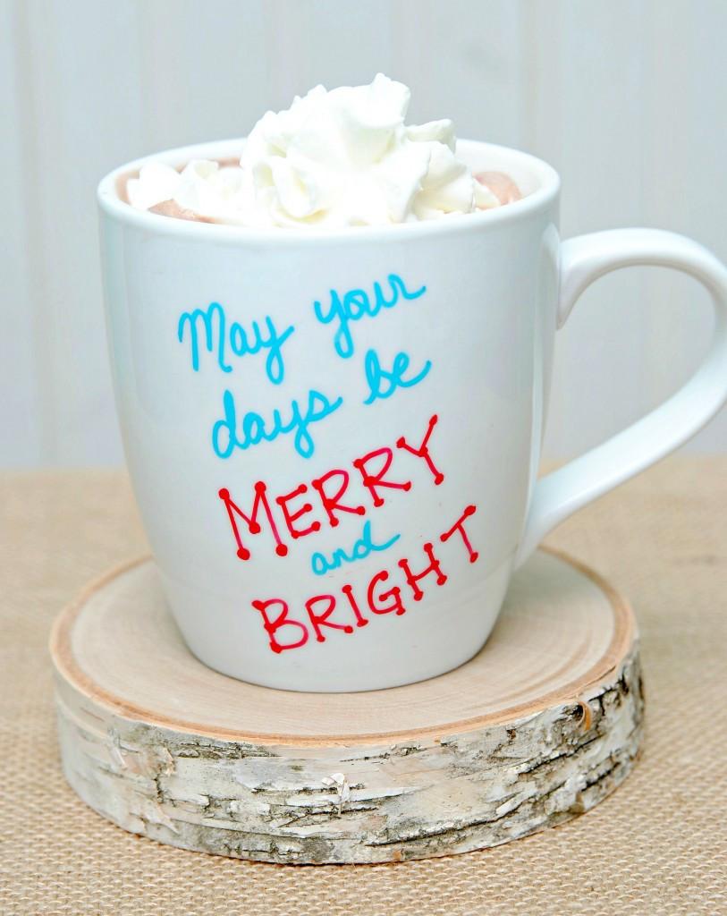 Best ideas about DIY Christmas Mug . Save or Pin Brilliant DIY Sharpie Mug Ideas Reliable Remodeler Now.