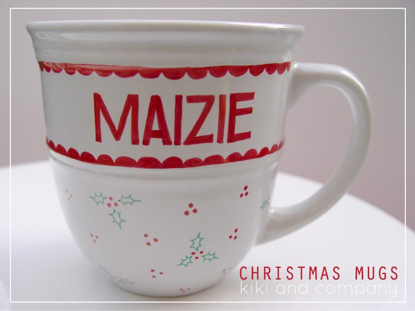Best ideas about DIY Christmas Mug . Save or Pin DIY Christmas Mugs Free Printable Kiki & pany Now.