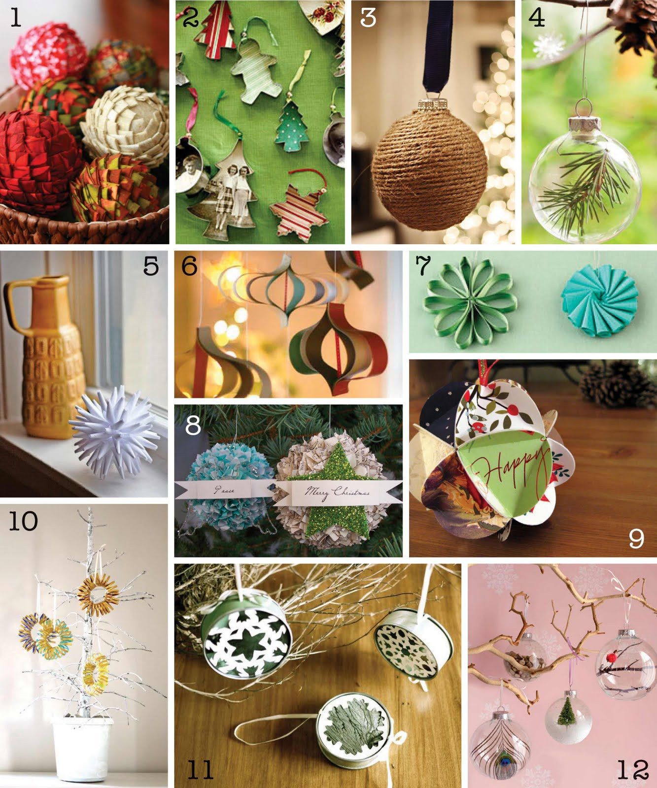 Best ideas about DIY Christmas Ornament . Save or Pin The Creative Place DIY Christmas Ornament Round Up Now.