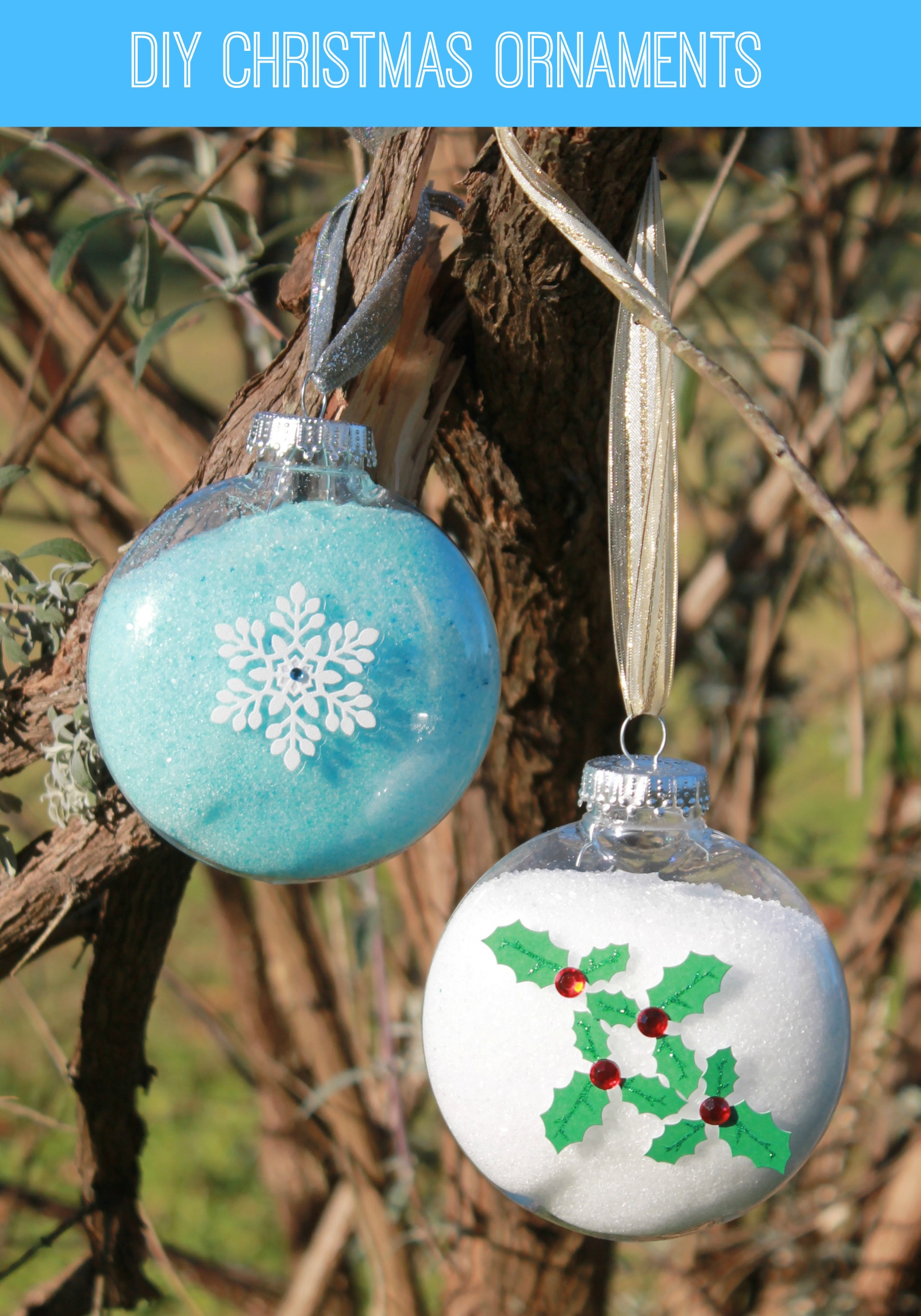 Best ideas about DIY Christmas Ornament . Save or Pin Easy DIY Snowflake Christmas Ornament Now.