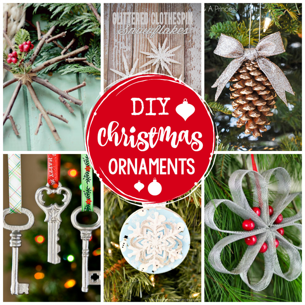 Best ideas about DIY Christmas Ornament . Save or Pin 25 DIY Christmas Ornaments to Make This Year Crazy Now.