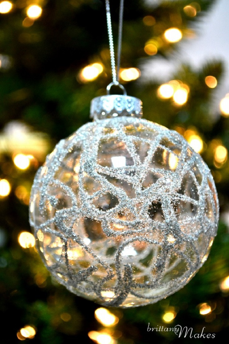 Best ideas about DIY Christmas Ornament . Save or Pin Top 10 DIY Christmas Ornaments Now.