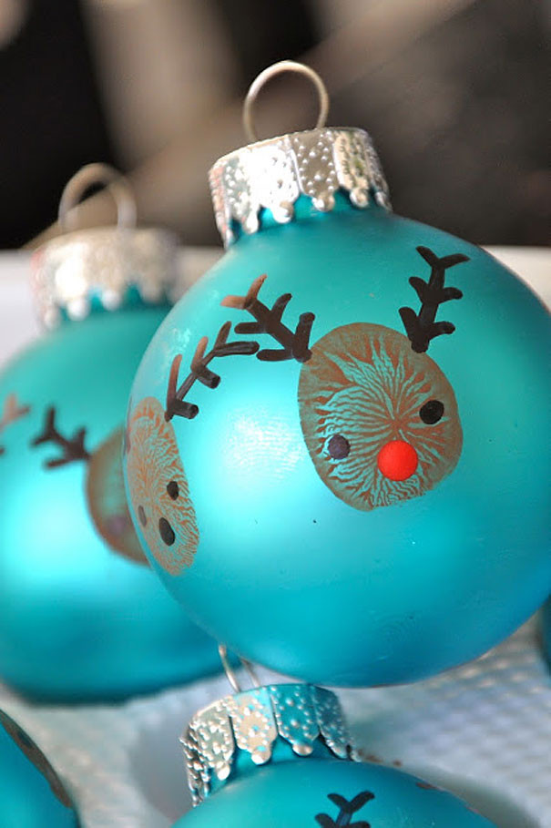 Best ideas about DIY Christmas Ornament Ideas . Save or Pin 20 Creative DIY Christmas Ornament Ideas Now.