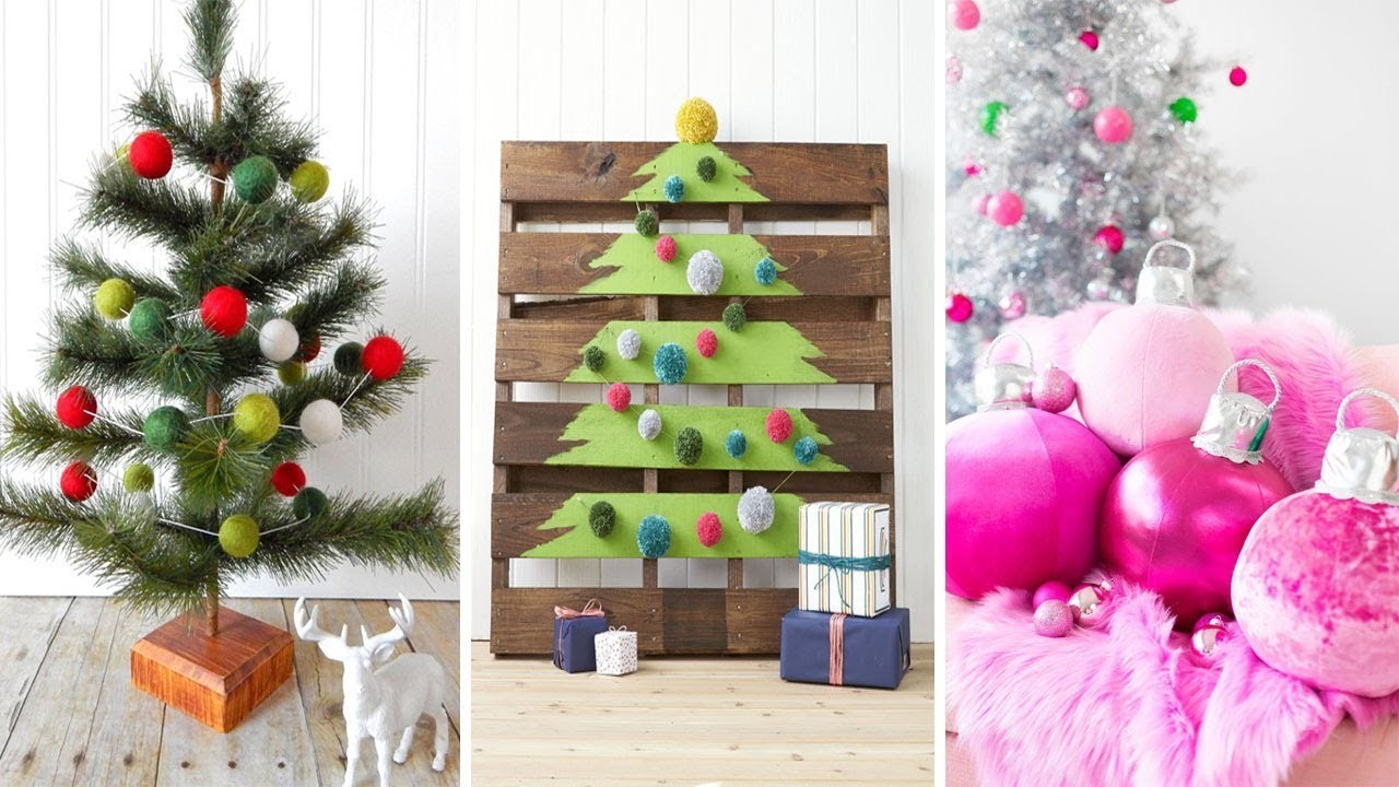 Best ideas about DIY Christmas Ornaments 2019 . Save or Pin DIY Christmas Decorations 10 Quick And Easy Christmas Now.