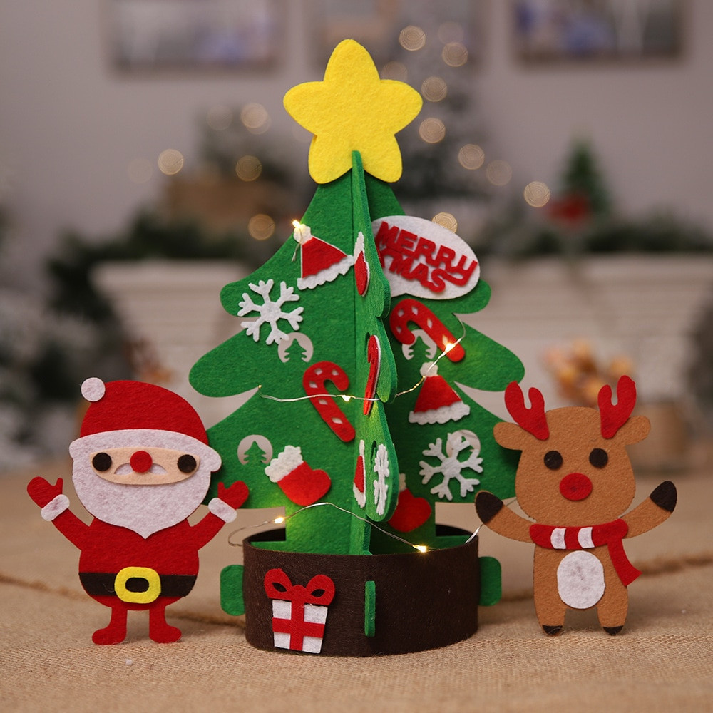 Best ideas about DIY Christmas Ornaments 2019 . Save or Pin LED DIY Christmas Tree Decorations For Home Kids DIY Now.