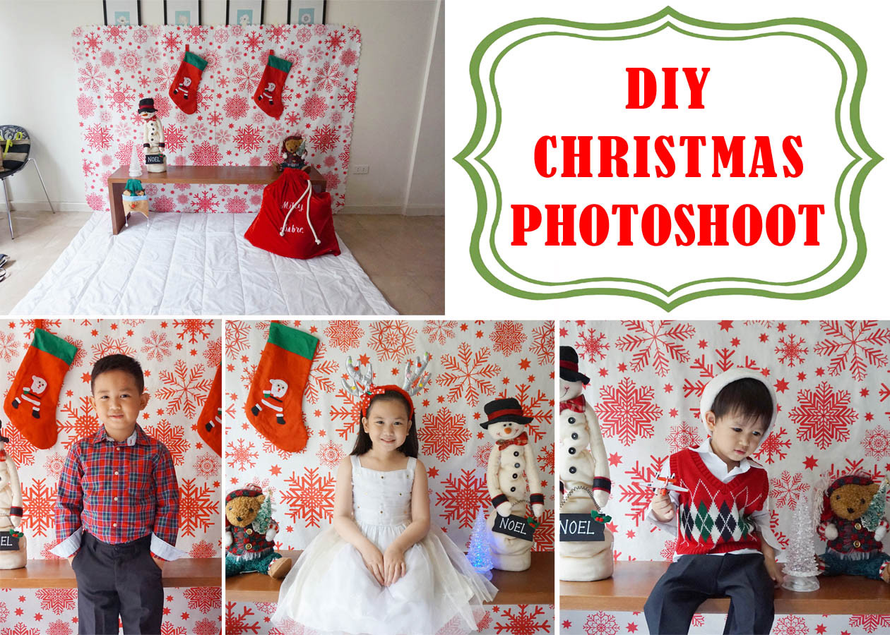 Best ideas about DIY Christmas Photography . Save or Pin MrsMommyHolic DIY Christmas shoot Now.