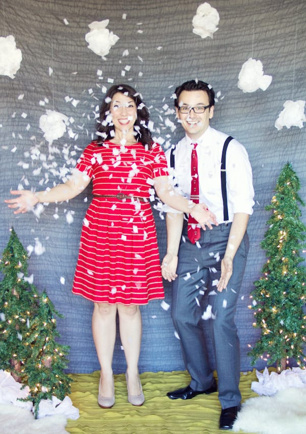 Best ideas about DIY Christmas Photography . Save or Pin DIY Holiday Backdrop Now.