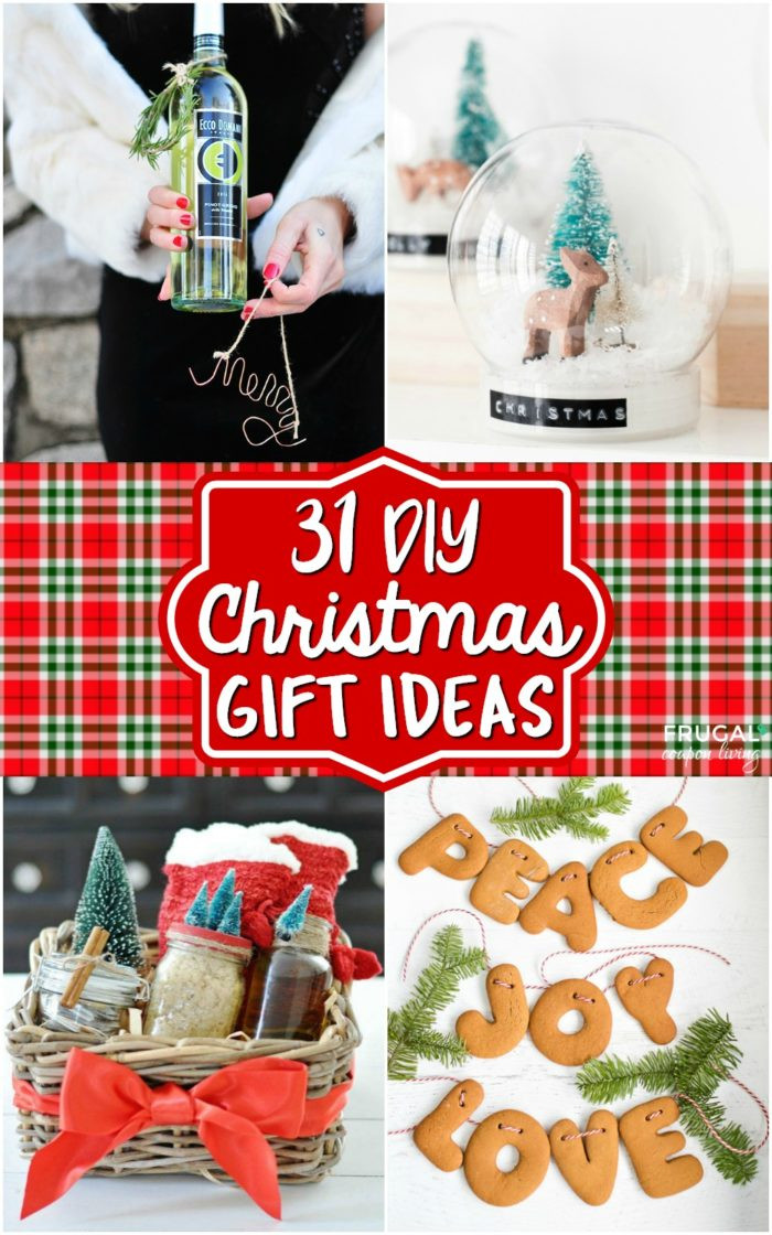 Best ideas about DIY Christmas Present Ideas . Save or Pin 31 Creative and Fun DIY Christmas Gift Ideas Part Two Now.