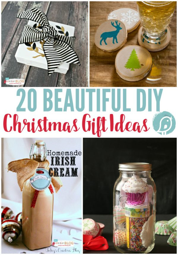 Best ideas about DIY Christmas Present Ideas . Save or Pin 20 DIY Christmas Gift Ideas Now.