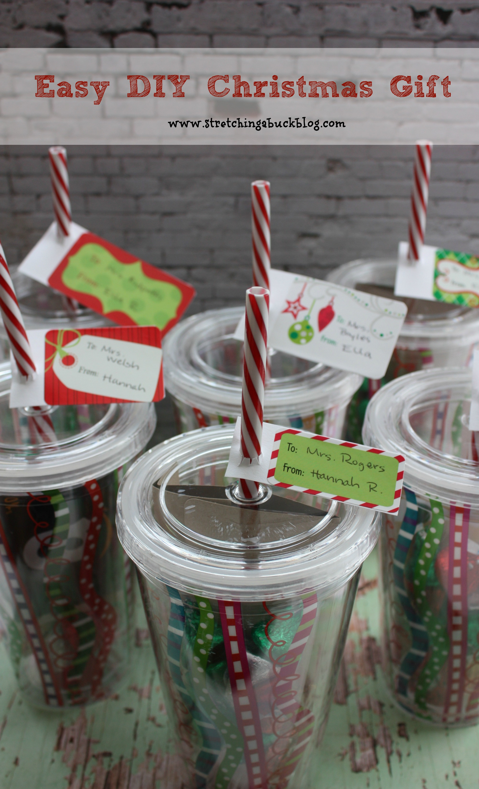 Best ideas about DIY Christmas Present Ideas . Save or Pin Easy DIY Christmas Gift Idea for Teachers Friends More Now.