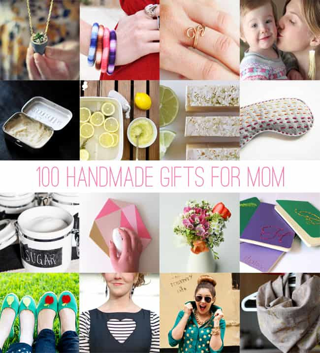 Best ideas about DIY Christmas Presents For Moms . Save or Pin 100 Handmade Gifts for Mom Now.