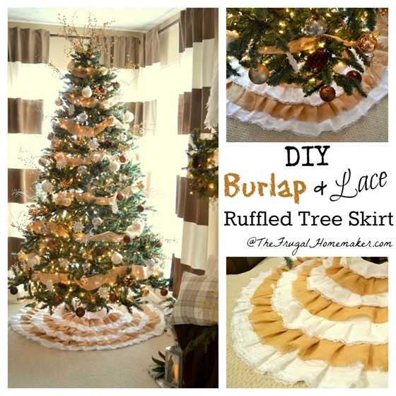 Best ideas about DIY Christmas Tree Skirts . Save or Pin Christmas Project gallery Now.