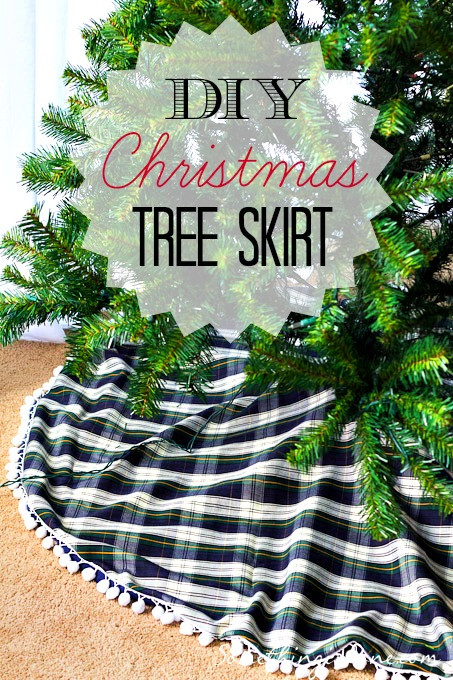 Best ideas about DIY Christmas Tree Skirts . Save or Pin DIY Christmas Tree Skirt Now.