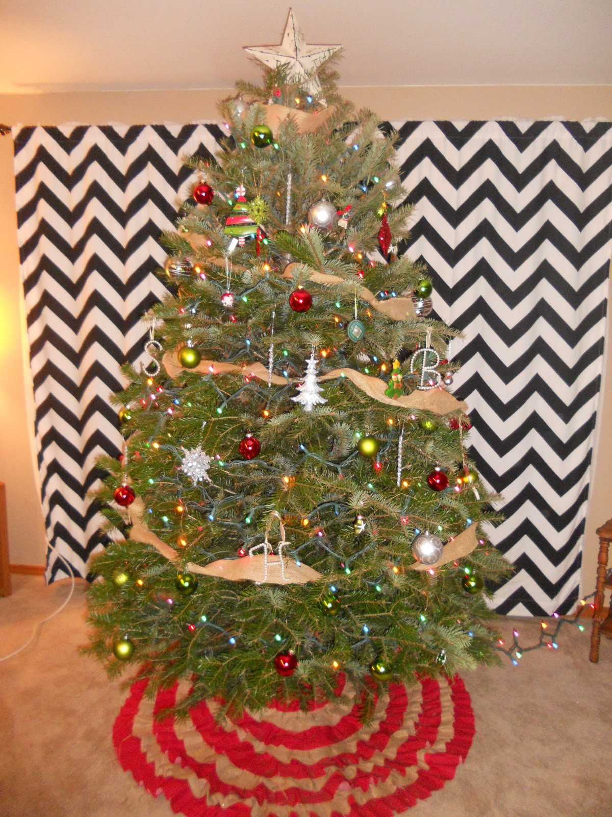 Best ideas about DIY Christmas Tree Skirts . Save or Pin Woman In Transition DIY Christmas Tree Skirt Now.