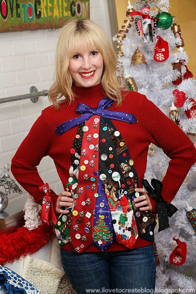 Best ideas about DIY Christmas Tree Sweater . Save or Pin Christmas Sweater Ideas DIY Projects Craft Ideas & How To Now.