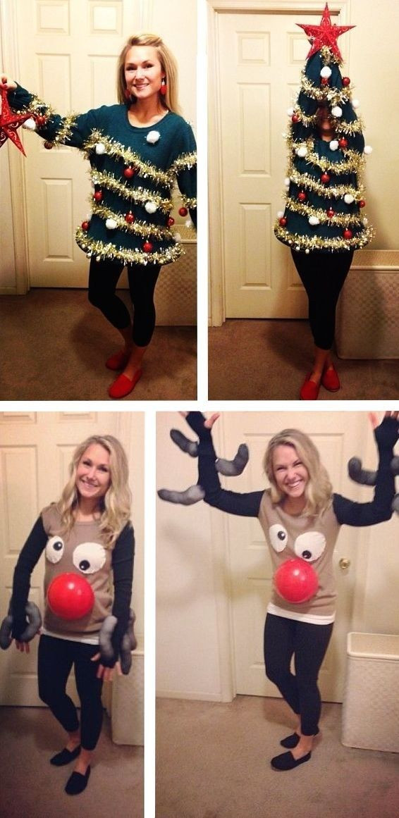Best ideas about DIY Christmas Tree Sweater . Save or Pin 1000 ideas about Ugly Sweater on Pinterest Now.