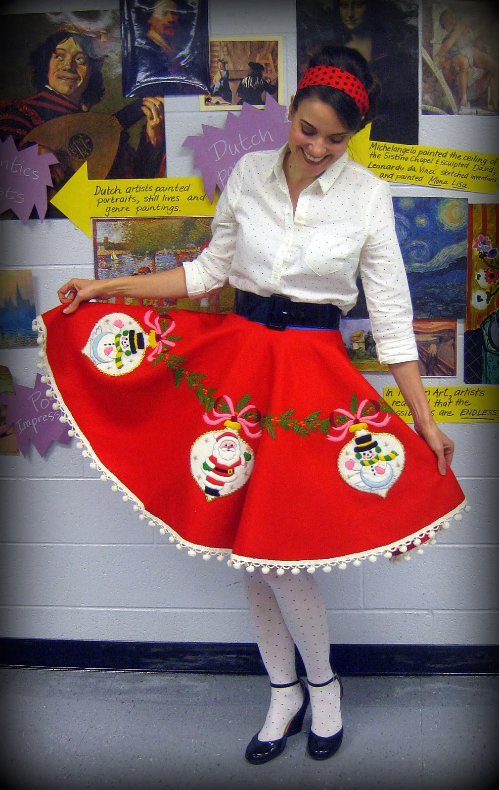 Best ideas about DIY Christmas Tree Sweater . Save or Pin Cassie Stephens DIY Tree Skirt to Lady Skirt in 60 Now.