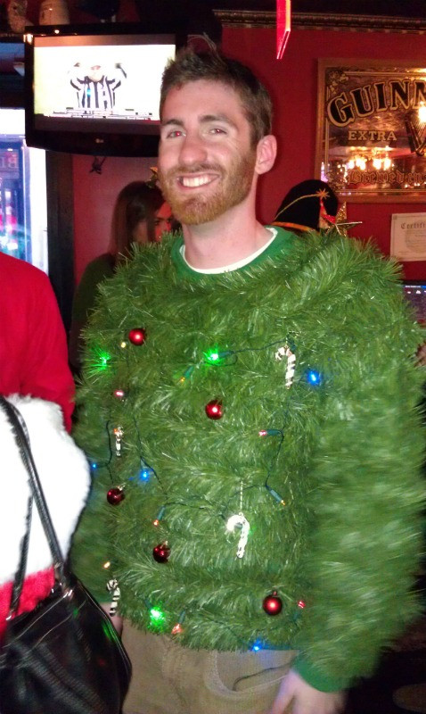 Best ideas about DIY Christmas Tree Sweater . Save or Pin SantaCon NYC 2011 — Three Many Cooks Now.