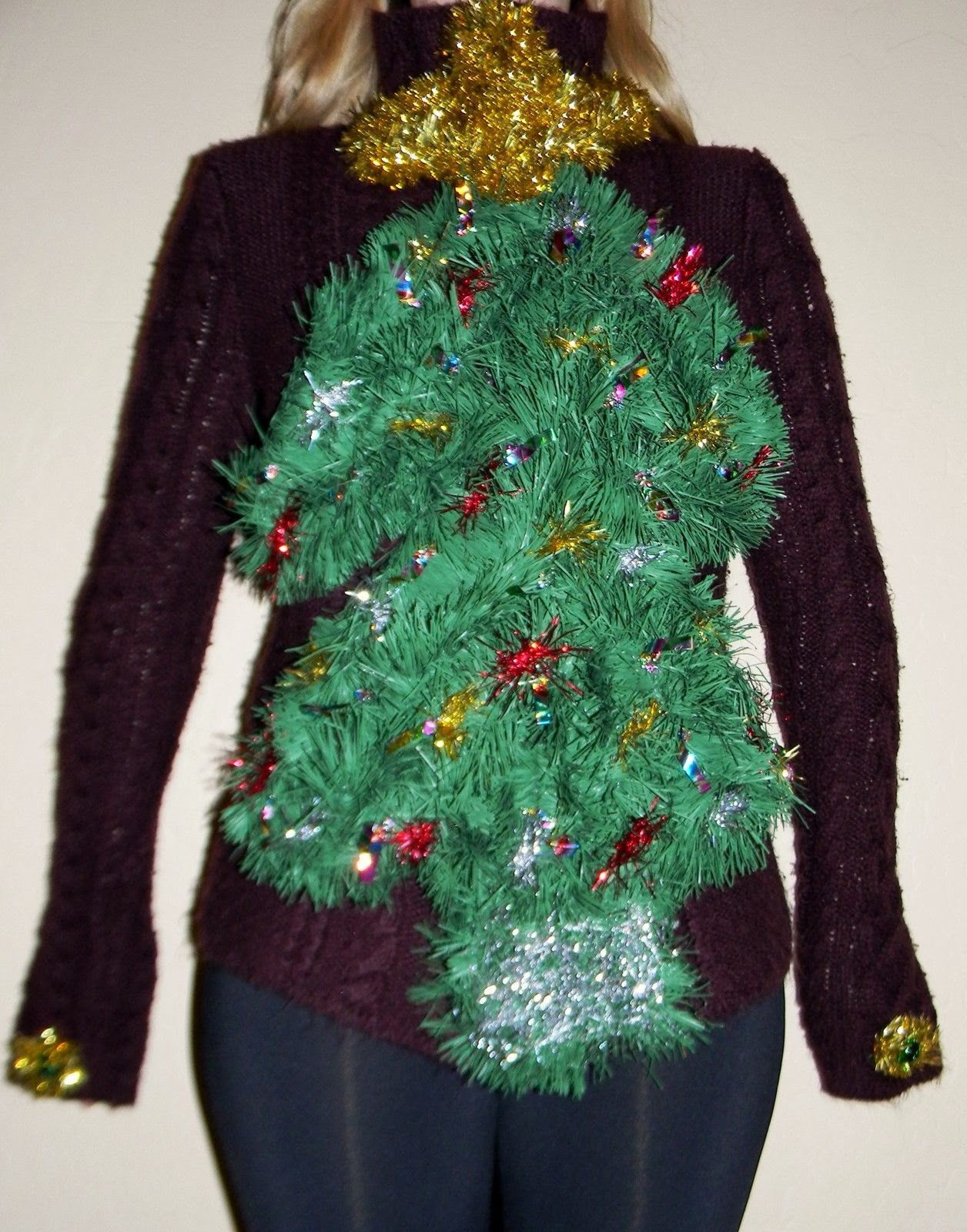 Best ideas about DIY Christmas Tree Sweater . Save or Pin DIY Handmade Ugly Christmas Sweater Ideas Crafty Morning Now.