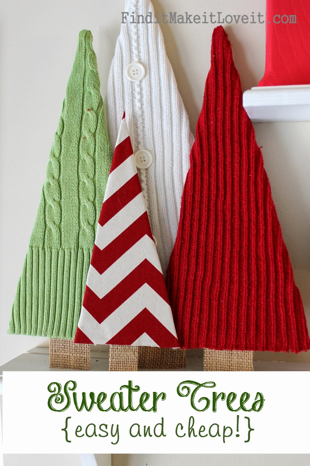 Best ideas about DIY Christmas Tree Sweater . Save or Pin 25 DIY Christmas Decorations The 36th AVENUE Now.