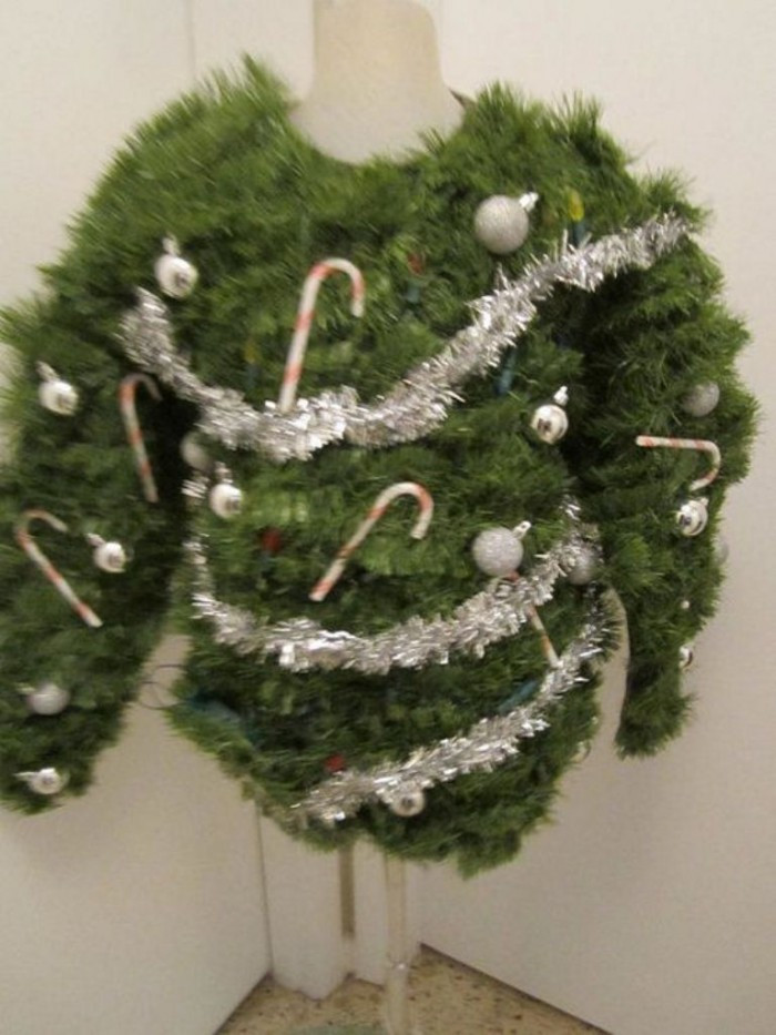 Best ideas about DIY Christmas Tree Sweater . Save or Pin Top 10 Ugliest Christmas Sweater Ideas Now.