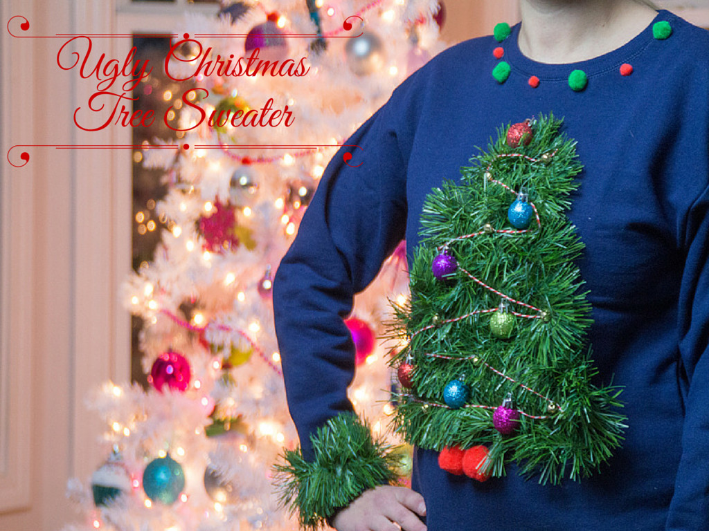 Best ideas about DIY Christmas Tree Sweater . Save or Pin Ugly Christmas Tree Sweater Southern Couture Now.