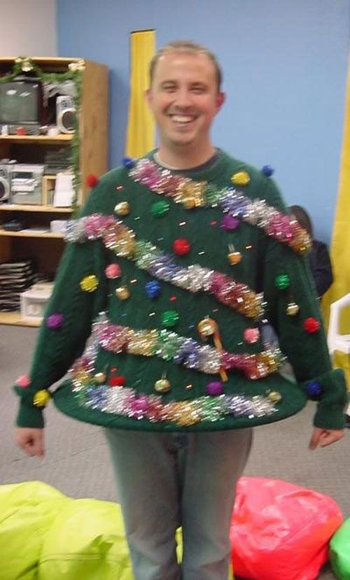 Best ideas about DIY Christmas Tree Sweater . Save or Pin Your Big Collection of Outrageously Ugly DIY Christmas Now.