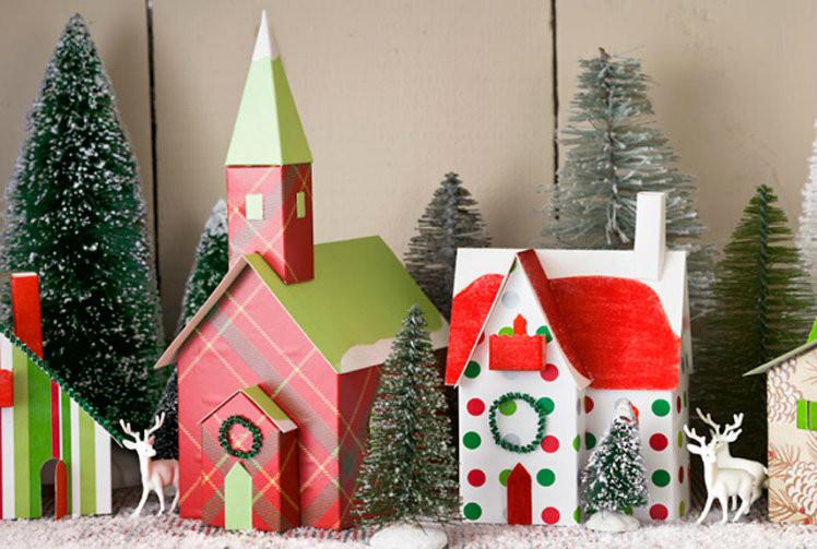 Best ideas about DIY Christmas Village . Save or Pin 30 Festive DIY Christmas Decor Ideas A Bud Now.