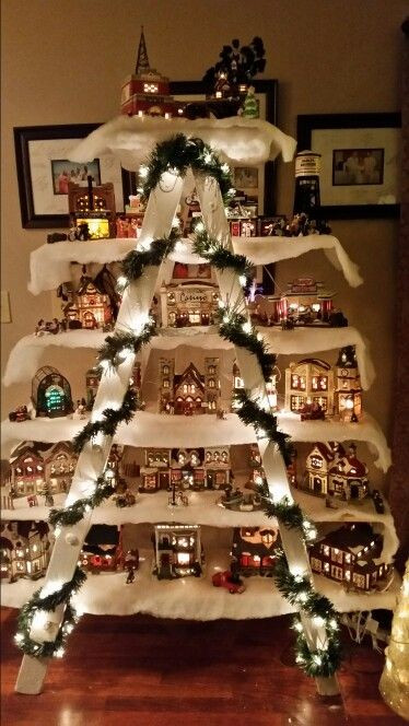 Best ideas about DIY Christmas Village . Save or Pin 60 of the BEST DIY Christmas Decorations Kitchen Fun Now.