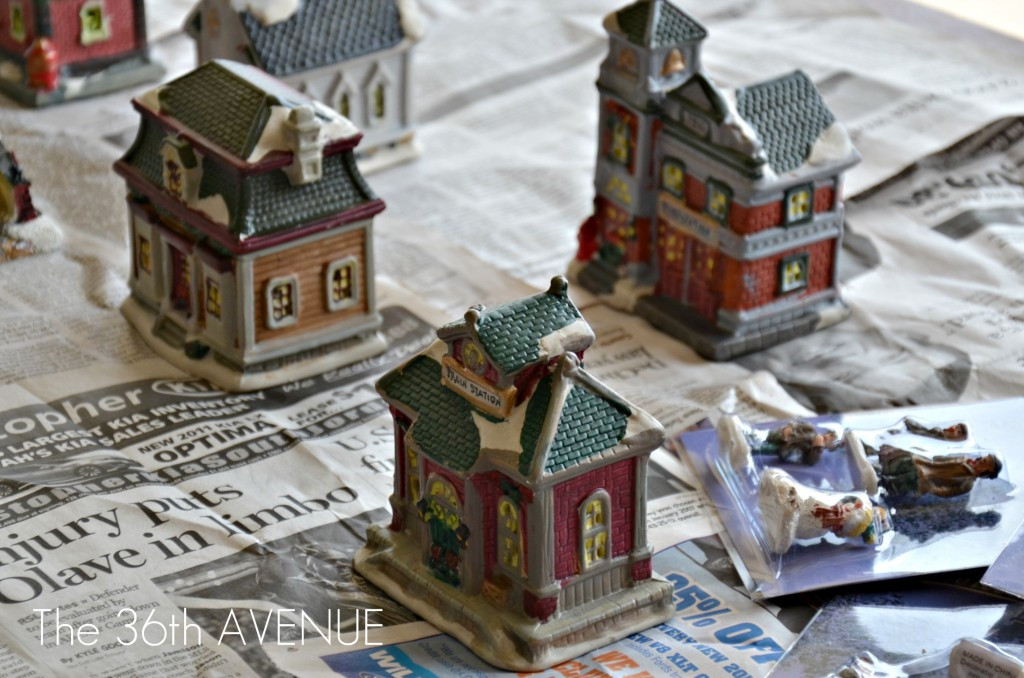 Best ideas about DIY Christmas Villages . Save or Pin DIY Dollar Store Christmas Village The 36th AVENUE Now.