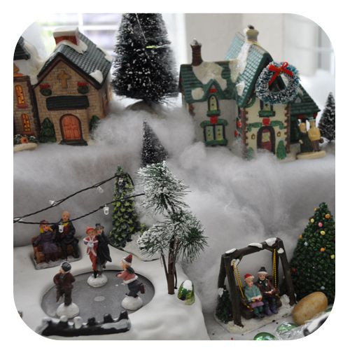 Best ideas about DIY Christmas Villages . Save or Pin DIY christmas village Great tips to set up a village Now.