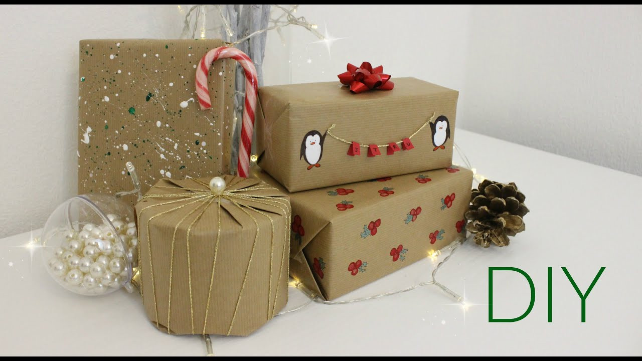 Best ideas about DIY Christmas Wrapping Paper . Save or Pin BORING Wrapping Paper DIY Christmas Wrapping Paper Ideas Now.