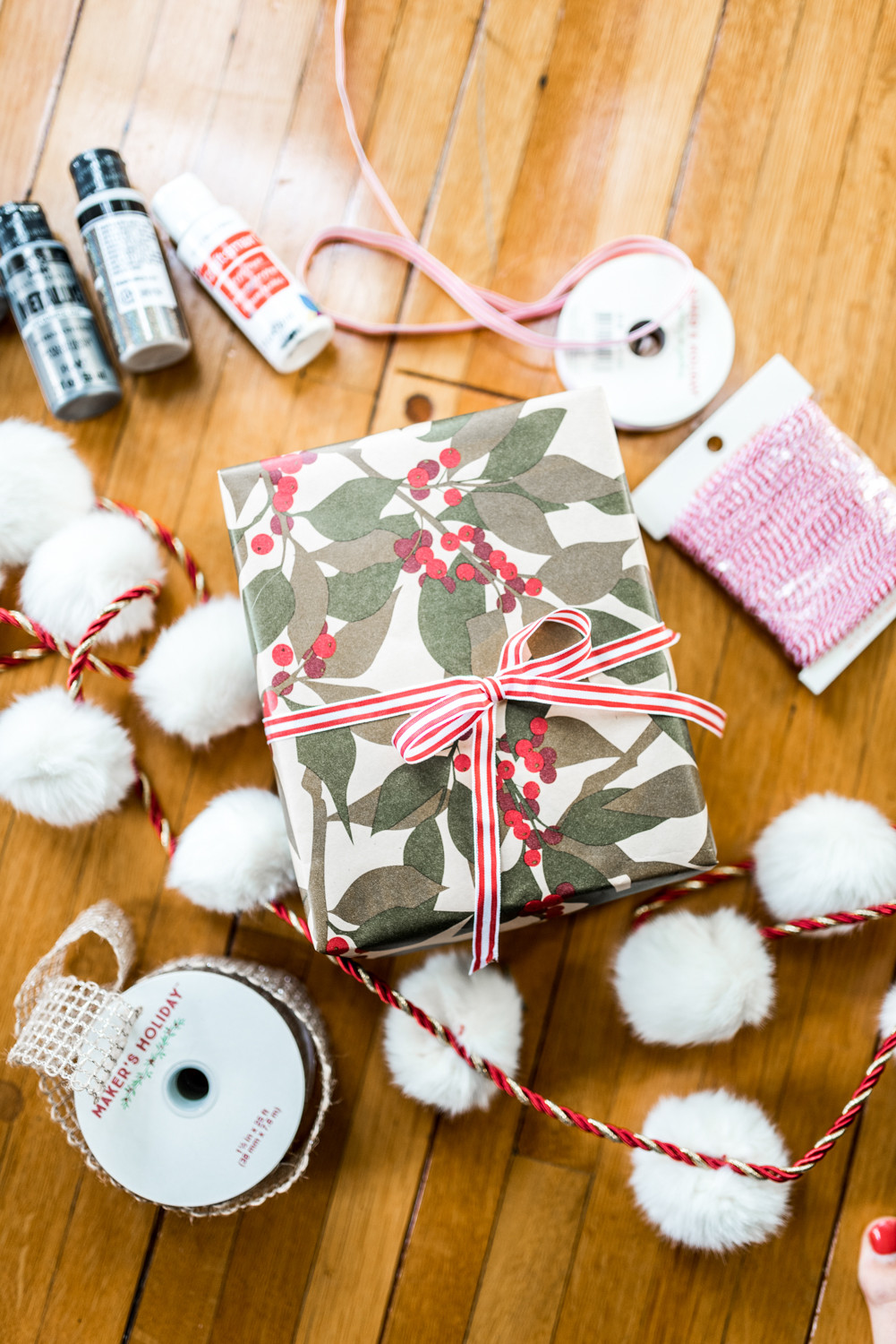 Best ideas about DIY Christmas Wrapping Paper . Save or Pin Holiday Gift Wrap DIY Ideas Now.